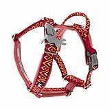 Hurtta Razzle Dazzle Beetroot Y Dog Harness
