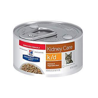 Hills k/d Feline Kidney Care Can Cat Food 24/2.9oz