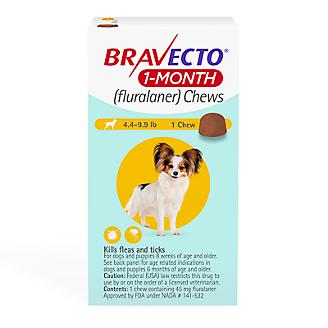 Bravecto Chews 1 Month Supply