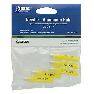 Ideal Aluminum Hub Needle 5 Pack