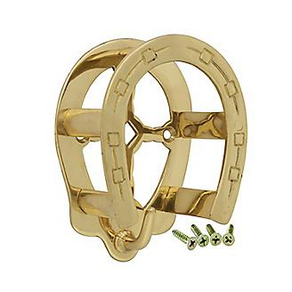 Horseshoe Brass Bridle Bracket