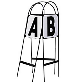 Dressage Metal Step In Stake Arena Letters Qty 8