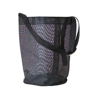 Mesh Feed Bag W/Head Strap Black