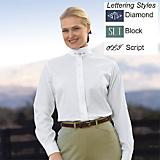 Devon-Aire Ladies Concour LS Shirt w/ Monogram