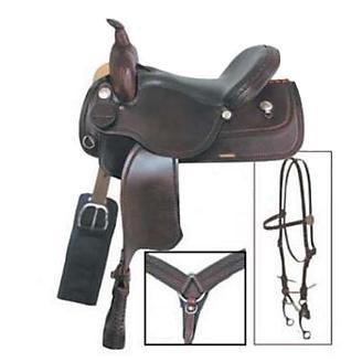 American Saddlery Trails Edge Saddle Package