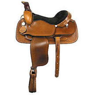 American Saddlery Barbwire Roper Saddle