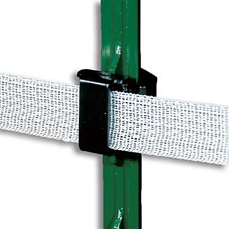 Safe-Fence T Post Polytape Insulator 25 Pk
