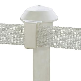 Safe Fence T Post Cap Insulators 10 Pk