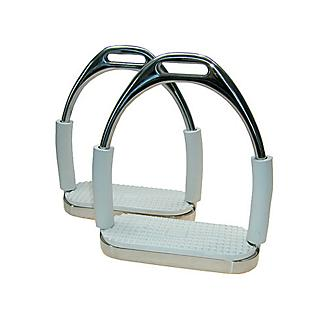 Jointed Stirrup Irons Pair