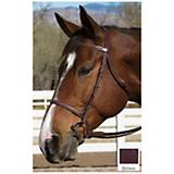 Collegiate Plain Raised Bridle