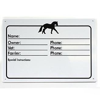 Horse Name Stall Plate