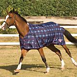 Saxon 1200D Turnout Sheet 75 Blackberry Plaid