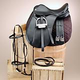 Silver Fox Dressage Saddle Set