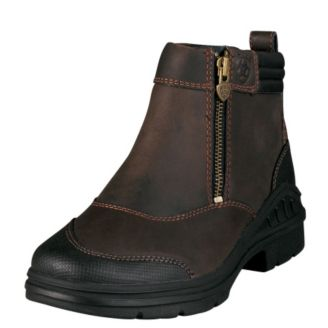ed59b7590ea2 Ariat Ladies Barnyard Side Zip Boots - Statelinetack.com