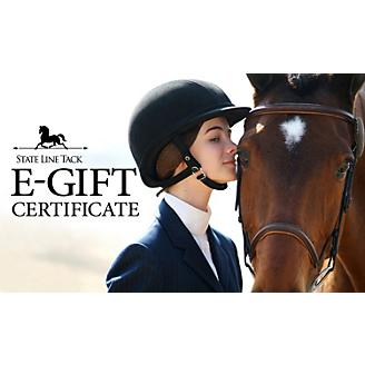 StateLineTack.com e-Gift Certiftcate
