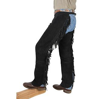 Tough1 Western Fringed Chaps