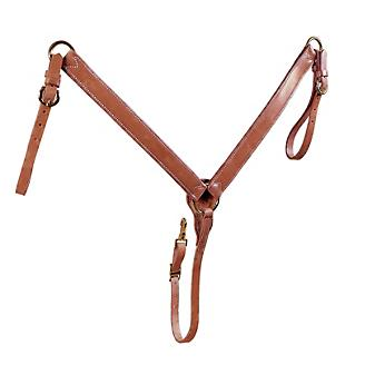 Tory Harness Leather Straight Breast Collar
