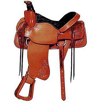 American Saddlery All Around Roper Saddle