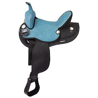 Eclipse By Tough1 Round Skirt Competition Saddle