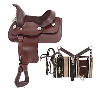 King Series Miniature Horse Western Saddle Package