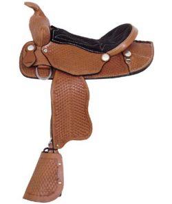 American Saddlery Little Buckaroo Pony Saddle - Ferret com