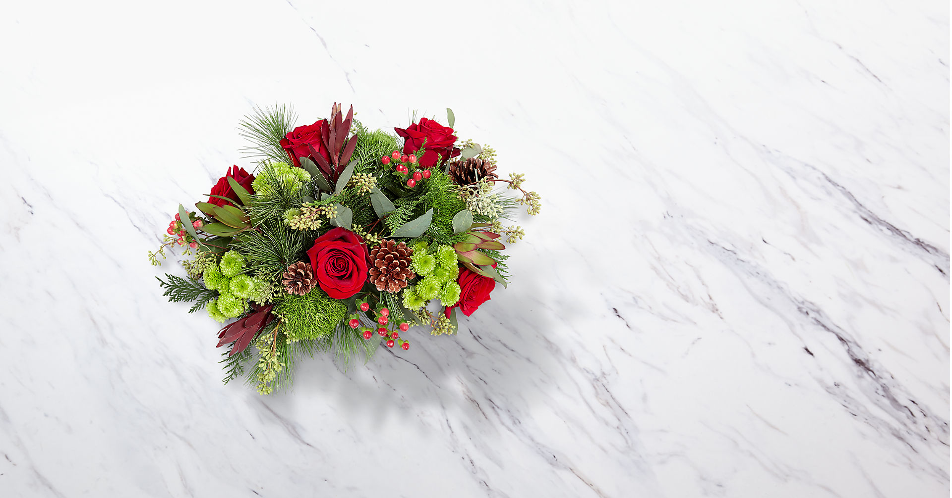 Christmas Cabin™ Bouquet - Image 2 Of 3