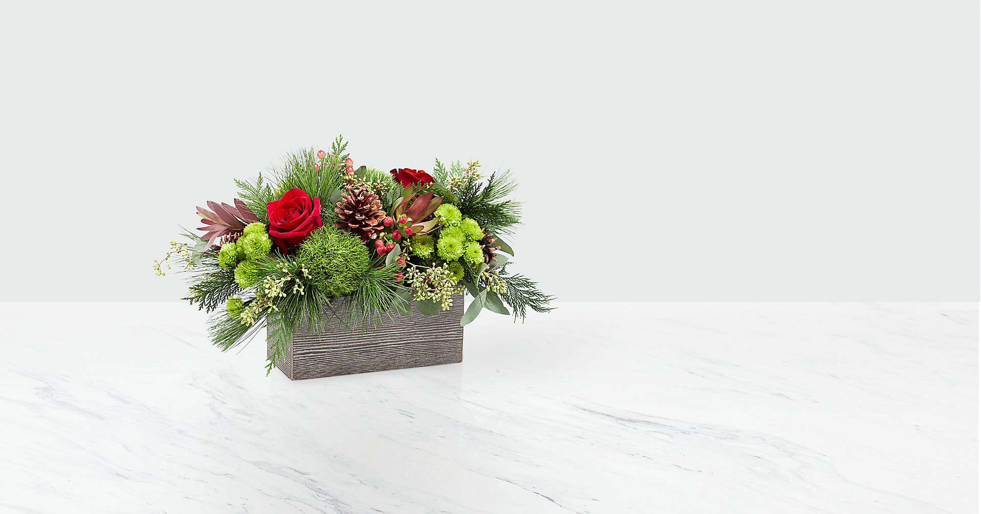 Christmas Cabin™ Bouquet - Image 1 Of 2
