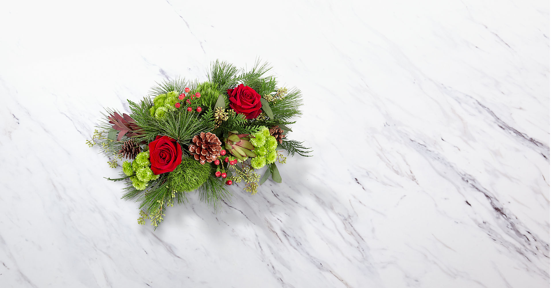 Christmas Cabin™ Bouquet - Image 2 Of 2