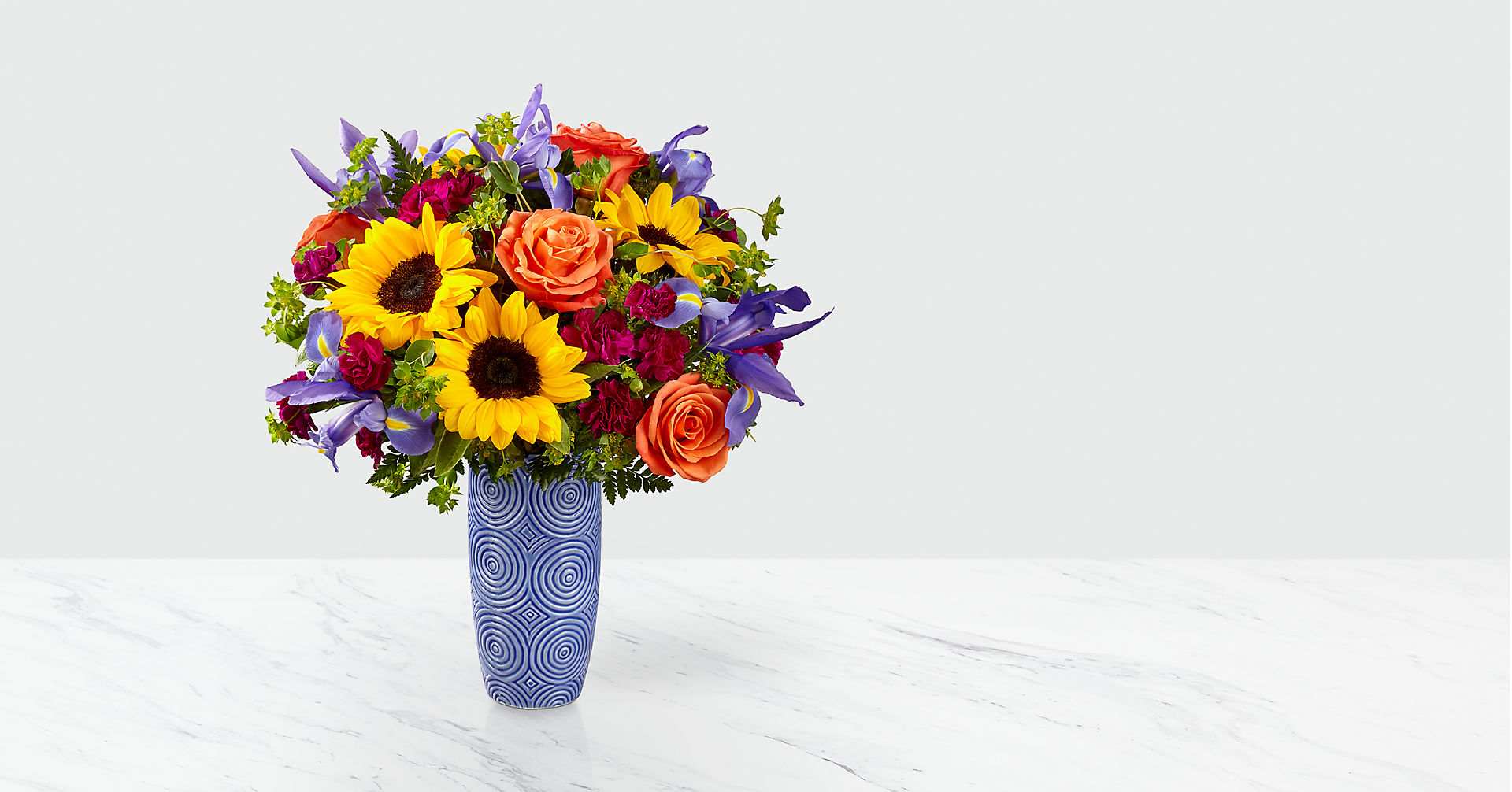 Touch of Spring® Bouquet-VASE INCLUDED - Image 1 Of 2