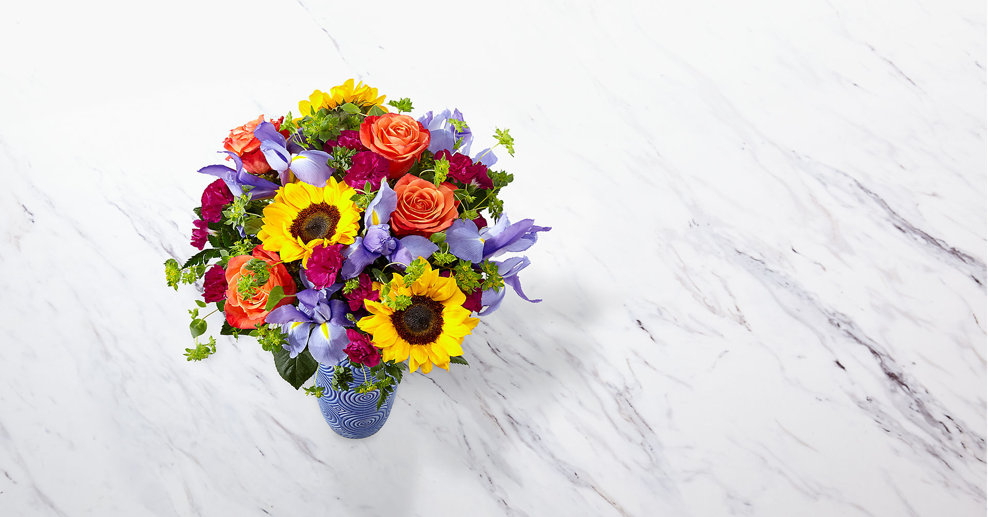 Touch of Spring® Bouquet-VASE INCLUDED - Image 2 Of 3