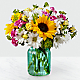 Sunlit Meadows™ Bouquet-VASE INCLUDED - Thumbnail 1 Of 2