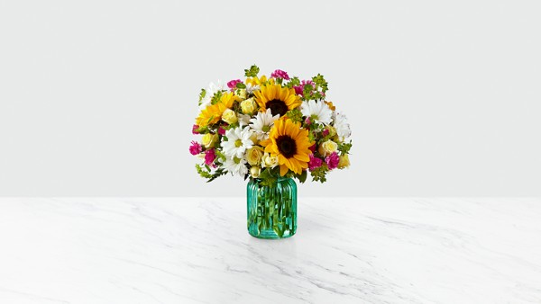 Sunlit Meadows™ Bouquet-VASE INCLUDED - Image 1 Of 2