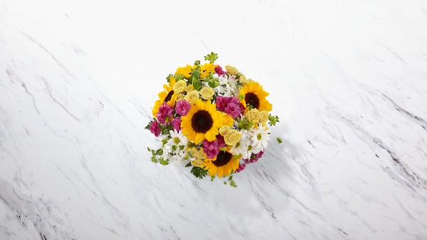 Sunlit Meadows™ Bouquet-VASE INCLUDED - Image 2 Of 2