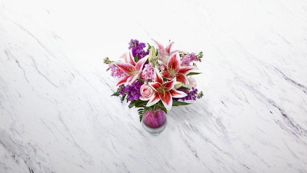 Shimmer & Shine™ Bouquet-VASE INCLUDED - Thumbnail 2 Of 2