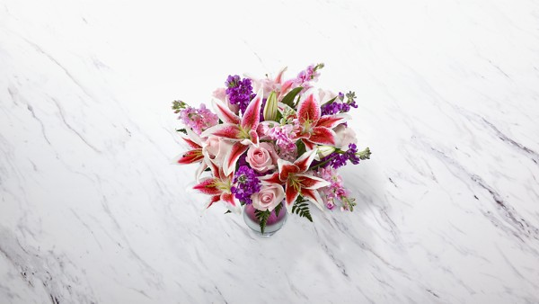 Shimmer & Shine™ Bouquet-VASE INCLUDED - Image 2 Of 2