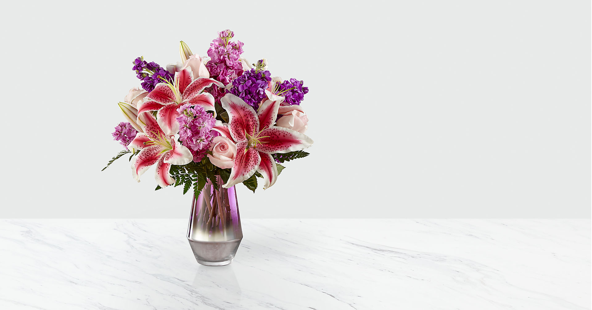 Shimmer & Shine™ Bouquet-VASE INCLUDED - Image 1 Of 3
