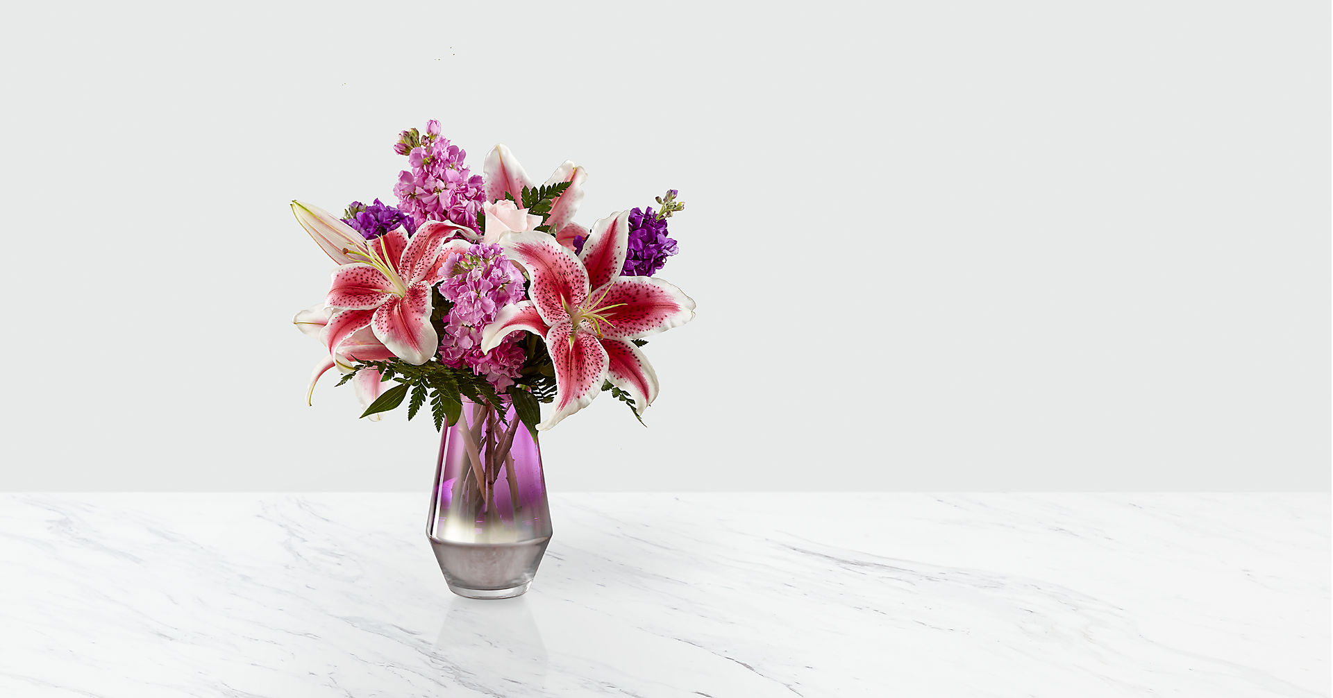 Shimmer & Shine™ Bouquet-VASE INCLUDED - Image 1 Of 2