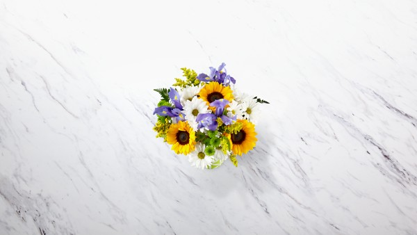 Sunflower Sweetness™ Bouquet-VASE INCLUDED - Image 2 Of 2
