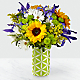 Sunflower Sweetness™ Bouquet-VASE INCLUDED - Thumbnail 1 Of 3