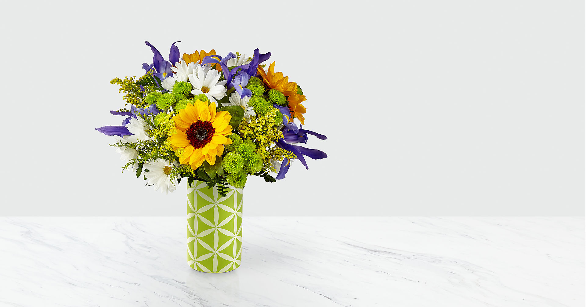 Sunflower Sweetness™ Bouquet-VASE INCLUDED - Image 1 Of 3