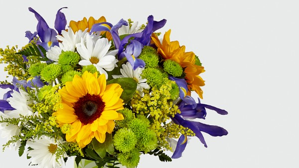 Sunflower Sweetness™ Bouquet-VASE INCLUDED - Thumbnail 3 Of 3