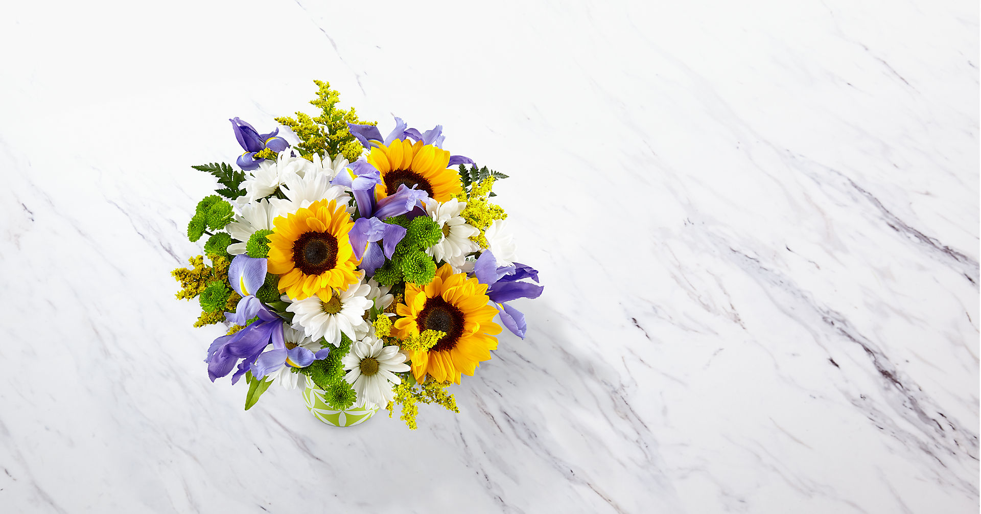 Sunflower Sweetness™ Bouquet-VASE INCLUDED - Image 2 Of 3