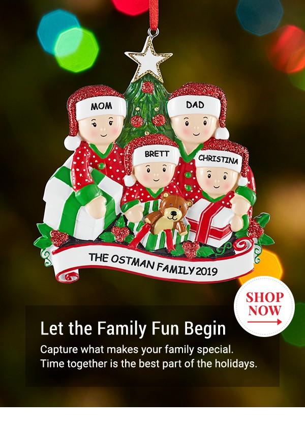 Let the Family Fun Begin. Shop Now.