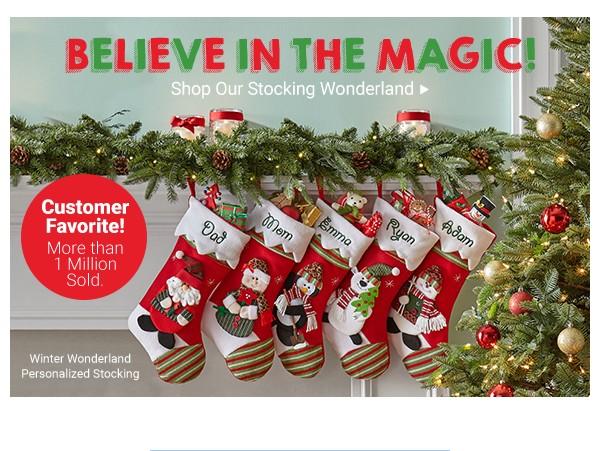 Shop Our Stocking Wonderland.