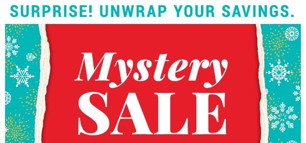 Mystery Sale.