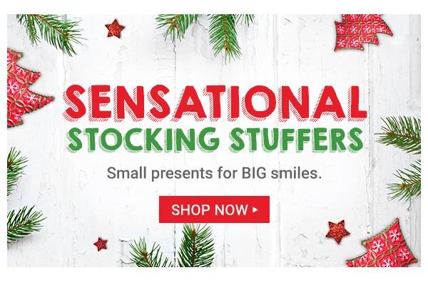 Stocking Stuffers. Shop Now.
