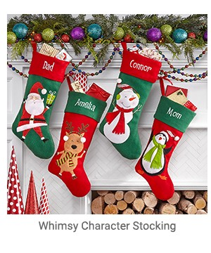 Whimsy Character Stocking