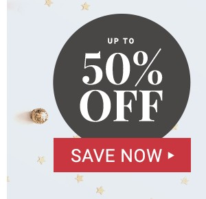 Up to 50% off Black Friday Deals.