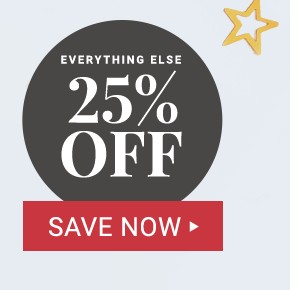 25% off everything else.