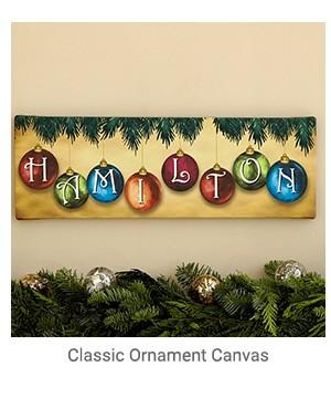 Classic Ornament Canvas